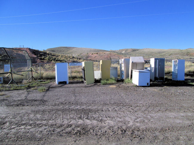 appliance area High Country Joint Powers Landfill Hanna Wyoming