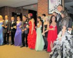 some HEM prom attendees