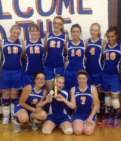Lady Miners Volleyball
