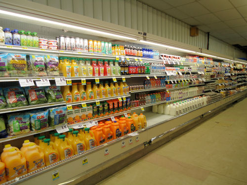 refrigerated selection